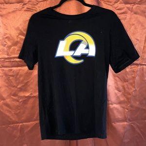 Los Angeles M RAMS Jack Daniels no 7 black  tshirt